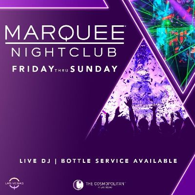 MARQUEE NIGHTCLUB, Saturday, June 5th, 2021