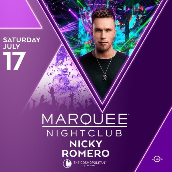 NICKY ROMERO at Marquee Nightclub thumbnail
