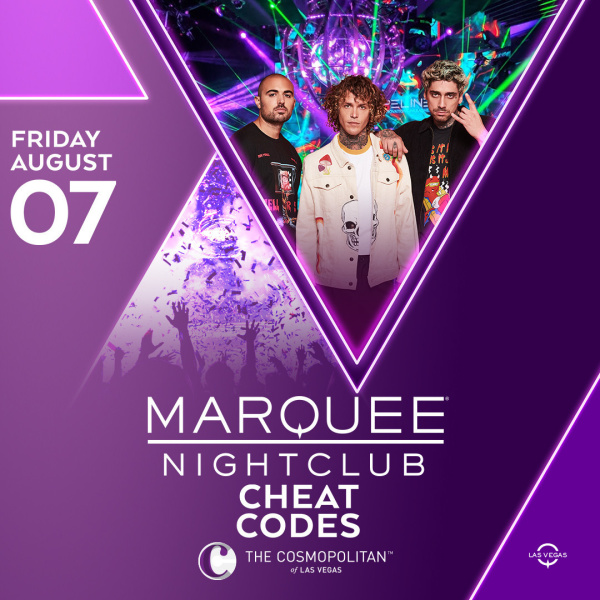 CHEAT CODES at Marquee Nightclub thumbnail