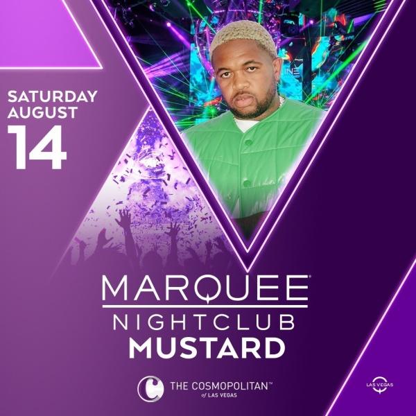 MUSTARD at Marquee Nightclub thumbnail