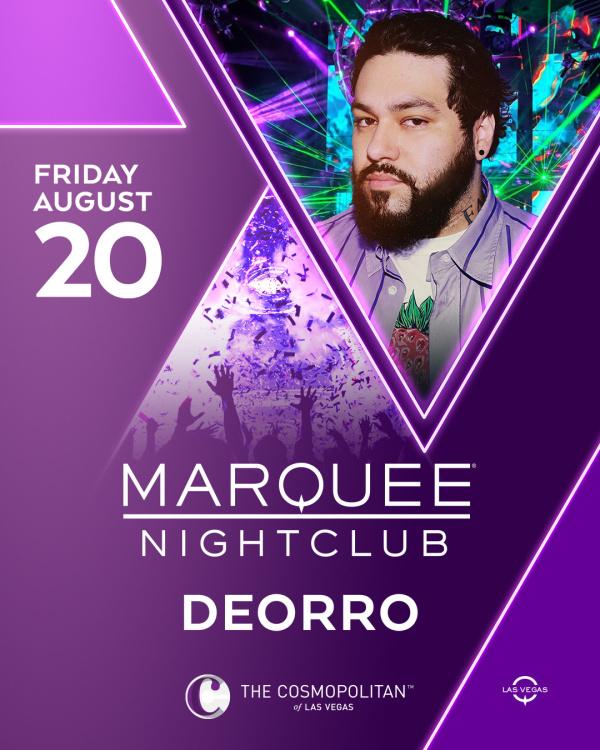 DEORRO at Marquee Nightclub thumbnail