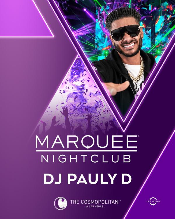 DJ PAULY D at Marquee Nightclub thumbnail