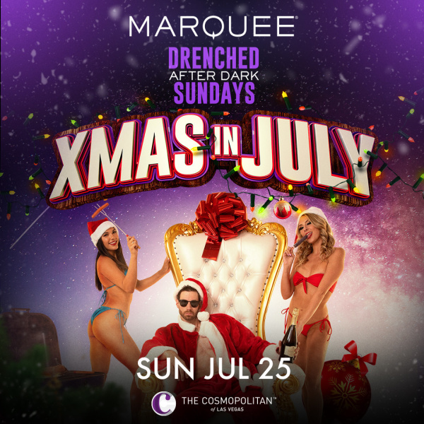 XMAS IN JULY: MIKE ATTACK at Marquee Nightclub thumbnail