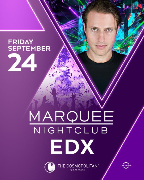 EDX at Marquee Nightclub thumbnail