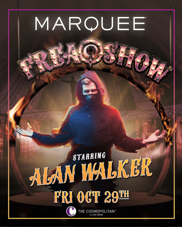 ALAN WALKER at Marquee Nightclub thumbnail