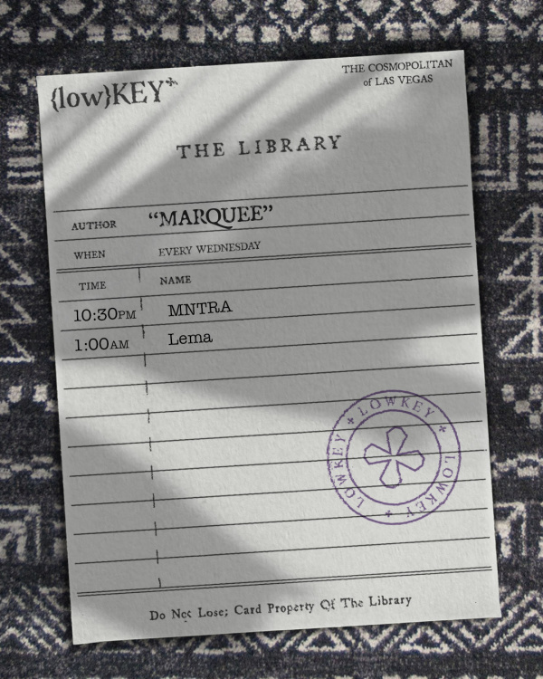 LowKey in the Library: MASON COLLECTIVE at Marquee Nightclub thumbnail