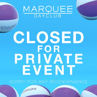 MARQUEE DAYCLUB, Friday, March 8th, 2019