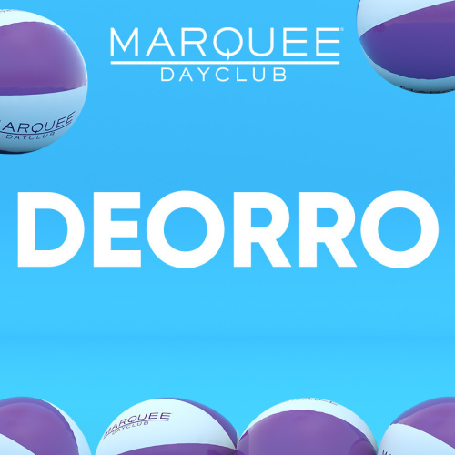 DEORRO - Marquee Day Club