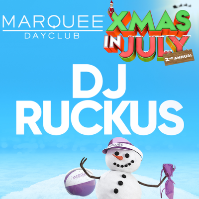 DJ RUCKUS, Friday, July 26th, 2019