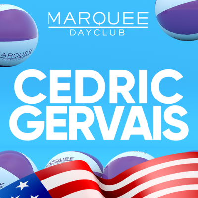 LABOR DAY WEEKEND: CEDRIC GERVAIS, Friday, August 30th, 2019
