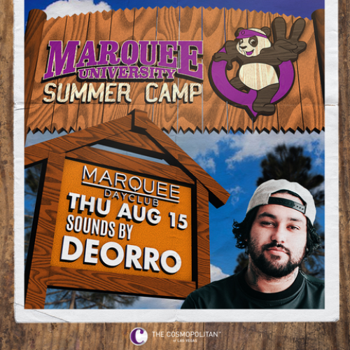 DEORRO - SUMMER CAMP 2 - Marquee Day Club