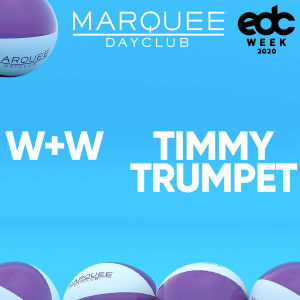 W&W WITH TIMMY TRUMPET, Saturday, May 16th, 2020