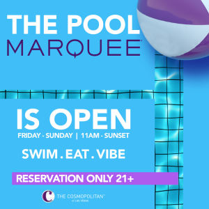 MARQUEE POOL, Friday, July 31st, 2020