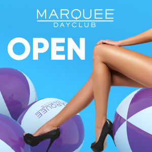 MARQUEE DAYCLUB, Thursday, April 2nd, 2020