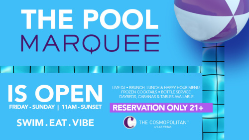 MARQUEE POOL - Marquee Day Club