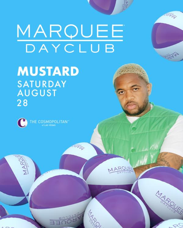 MUSTARD at Marquee Dayclub thumbnail