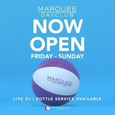 MARQUEE DAYCLUB, Monday, May 31st, 2021
