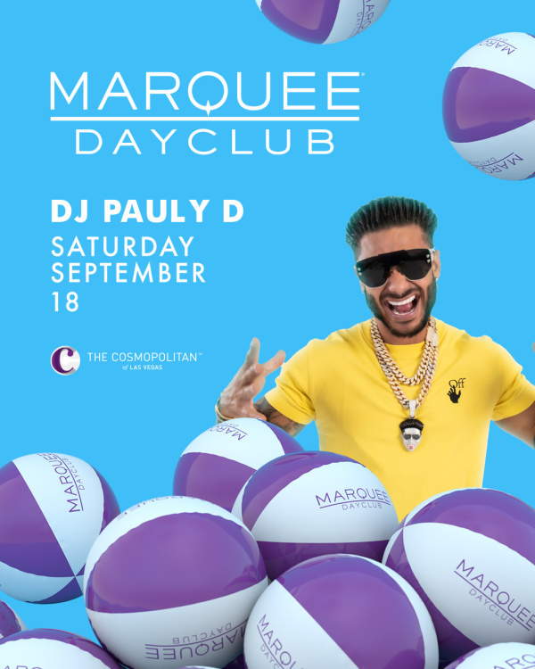 DJ PAULY D at Marquee Dayclub thumbnail