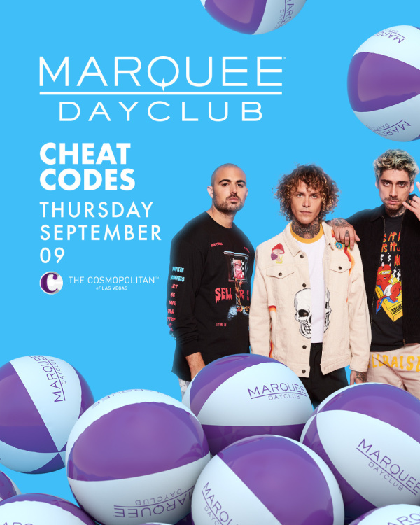 CHEAT CODES at Marquee Dayclub thumbnail