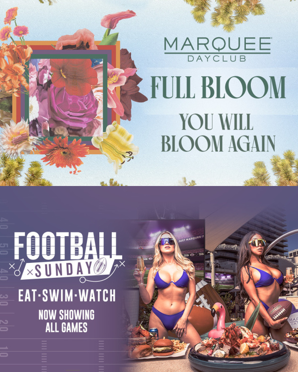 FULL BLOOM: DOMBRESKY + FOOTBALL SUNDAY at Marquee Dayclub thumbnail