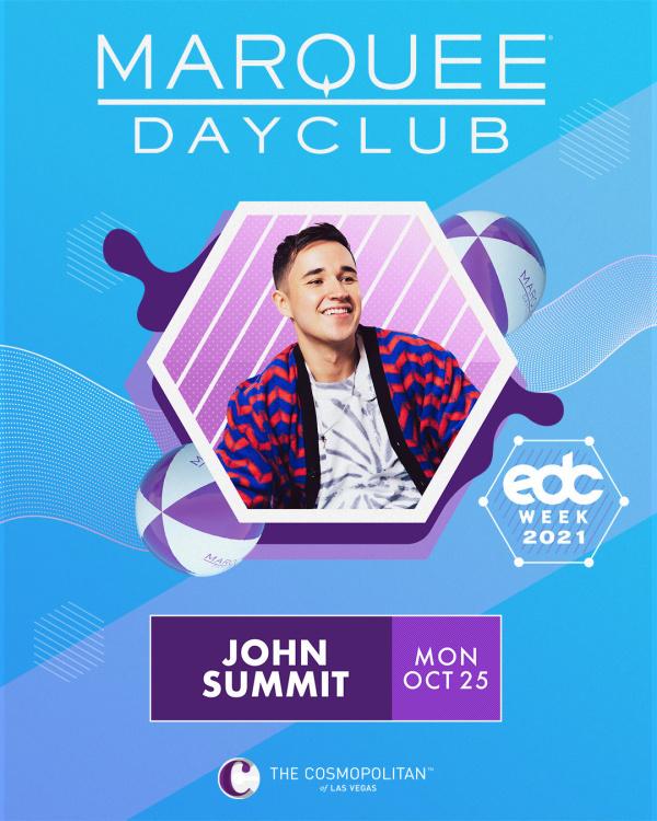 EDC WEEK: JOHN SUMMIT at Marquee Dayclub thumbnail