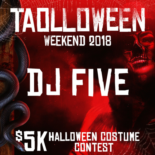 HALLOWEEN 2018 - DJ FIVE - TAO Nightclub