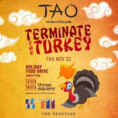 TERMINATE THE TURKEY w/ DJ FIVE - TAO Nightclub