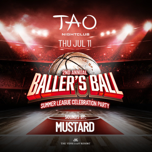 BALLER'S BALL: MUSTARD - TAO Nightclub