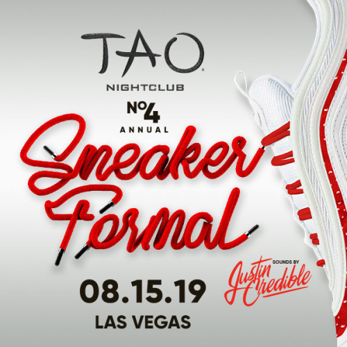 SNEAKER FORMAL WITH SOUNDS BY JUSTIN CREDIBLE - TAO Nightclub
