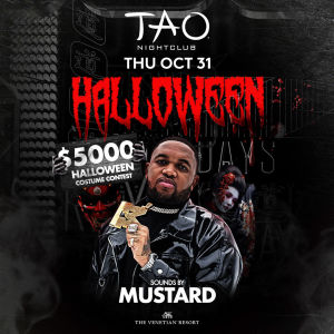 HALLOWEEN: MUSTARD, Thursday, October 31st, 2019