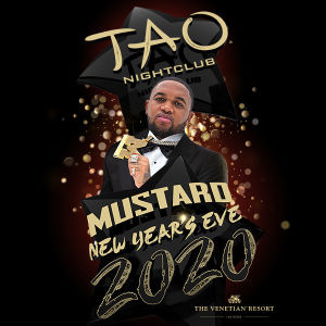 NEW YEARS EVE: MUSTARD, Tuesday, December 31st, 2019