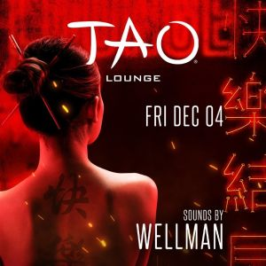 TAO LOUNGE, Friday, December 4th, 2020