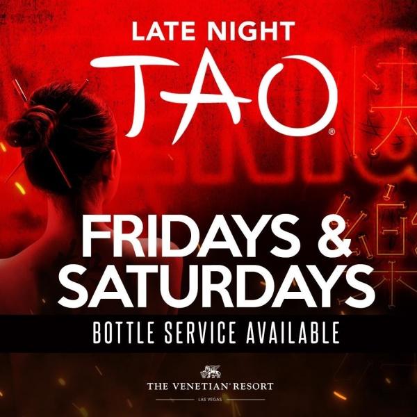 TAO LATE NIGHT