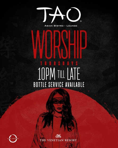 WORSHIP THURSDAYS - TAO Lounge