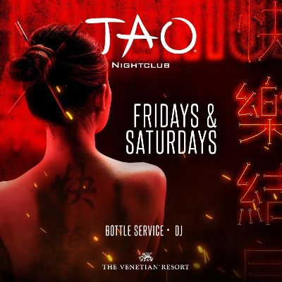 TAO Nightclub, Saturday, June 26th, 2021