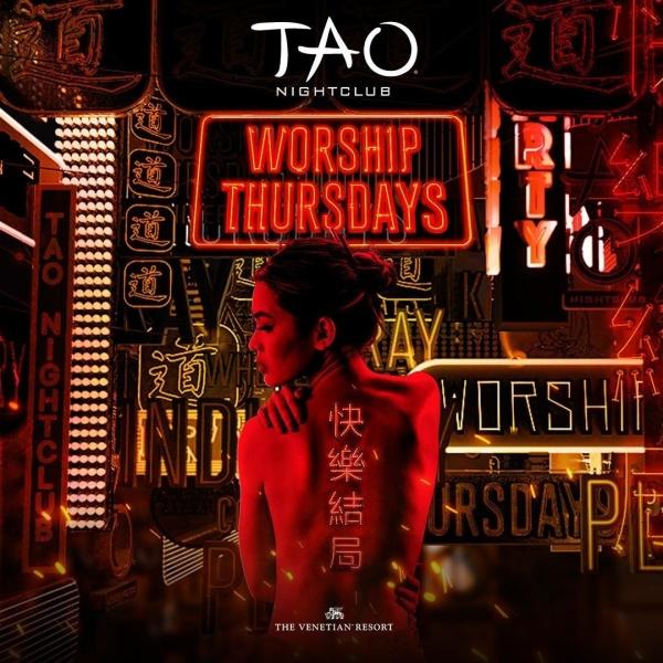 WORSHIP THURSDAYS: FOUR COLOR ZACK at TAO Nightclub thumbnail
