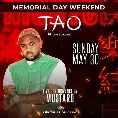 TAO Nightclub, Sunday, May 30th, 2021