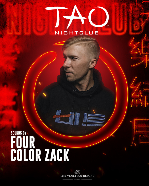 FOUR COLOR ZACK at TAO Nightclub thumbnail