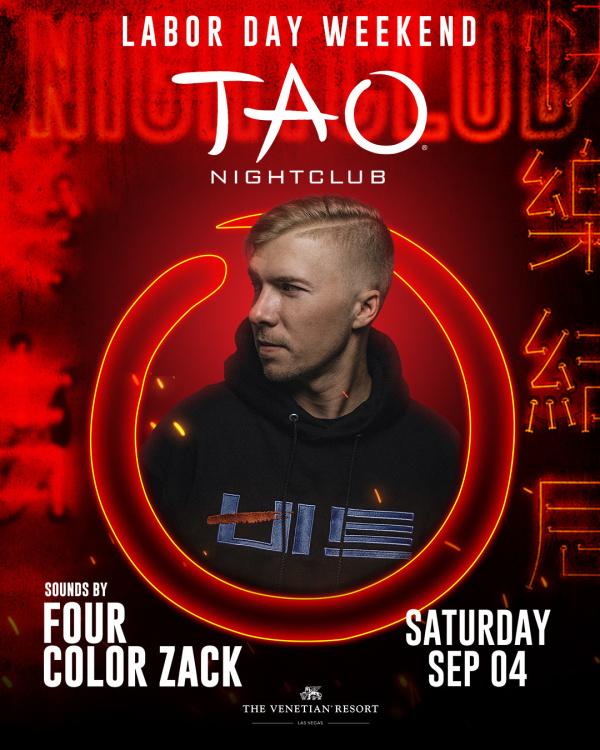 LDW: FOUR COLOR ZACK at TAO Nightclub thumbnail