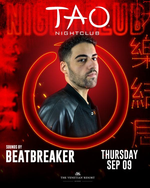 WORSHIP THURSDAYS: BEATBREAKER at TAO Nightclub thumbnail