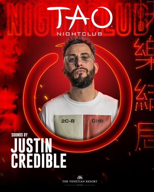 WORSHIP THURSDAYS: JUSTIN CREDIBLE at TAO Nightclub thumbnail