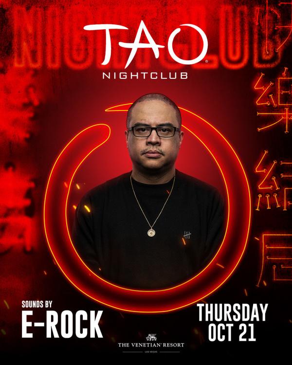 WORSHIP THURSDAYS: E-ROCK at TAO Nightclub thumbnail