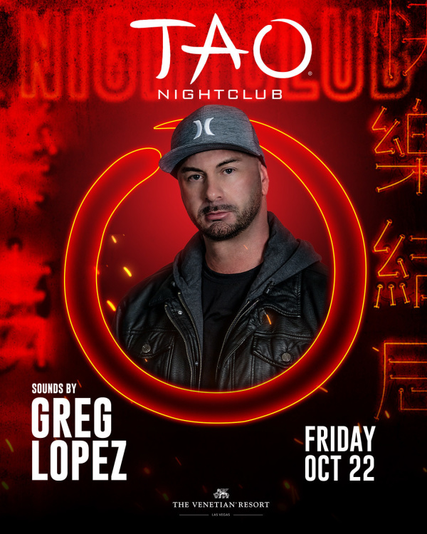 GREG LOPEZ at TAO Nightclub thumbnail