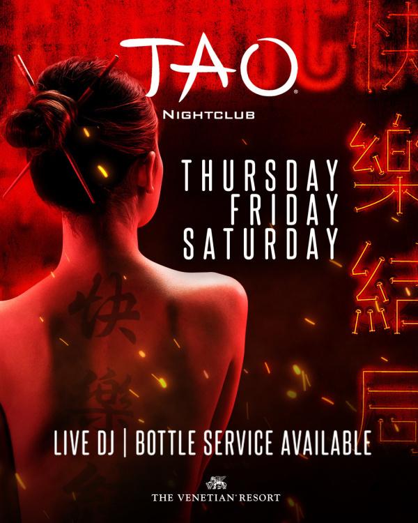 DEEJAY AL at TAO Nightclub thumbnail