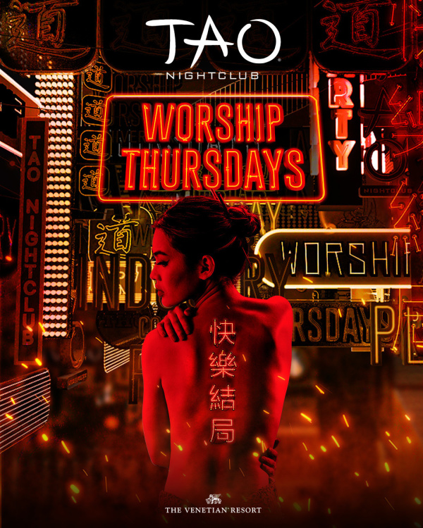 WORSHIP THURSDAYS: ANGIE VEE at TAO Nightclub thumbnail
