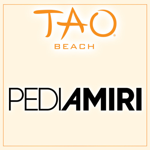 PEDI AMIRI - TAO Beach Club