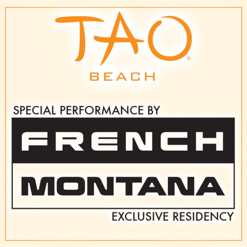FRENCH MONTANA - TAO Beach Club