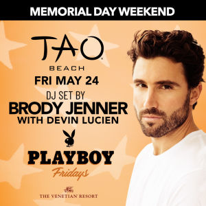 PLAYBOY FRIDAYS : BRODY JENNER, Friday, May 24th, 2019