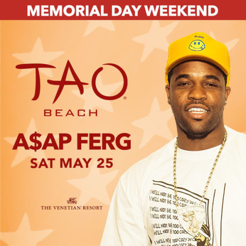 A$AP FERG - TAO Beach Club