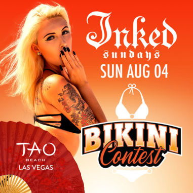 INKED SUNDAYS BIKINI CONTEST WITH SOUNDS BY DJ CLA